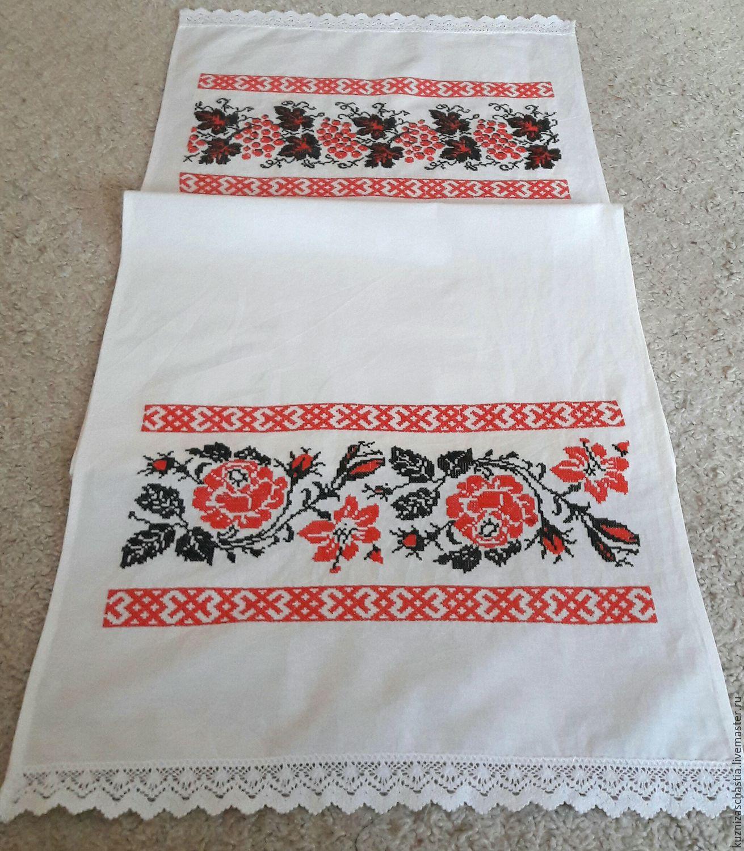 Вышивка рушник под ноги