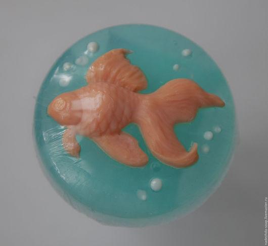 """Мыло ручной работы. Ярмарка Мастеров - ручная работа. Купить Мыло """"Золотая рыбка"""" для нормального типа кожи.. Handmade."""