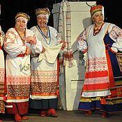 Народные костюмы ручной работы. Ярмарка Мастеров - ручная работа Народные сценические костюмы для хора (ансамбля). Handmade.
