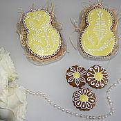 Сувениры и подарки handmade. Livemaster - original item Gingerbread on March 8.. Handmade.