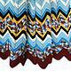 Текстиль, ковры ручной работы. Заказать Плед вязаный в стиле Миссони Вишня в шоколаде. Море уютных идей. Ярмарка Мастеров.