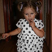 Работы для детей, ручной работы. Ярмарка Мастеров - ручная работа платье   для ребенка 2 летнего. Handmade.