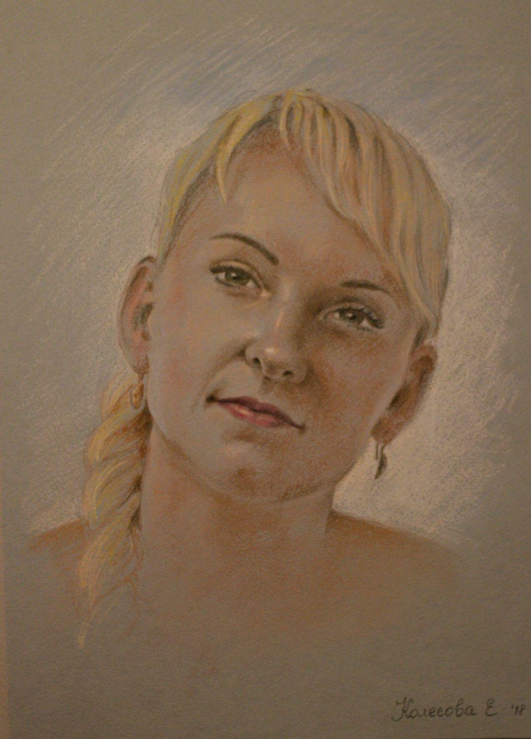 красная портрет по фотографии тамбов актриса показывает