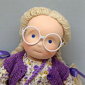 Куклы и игрушки ручной работы. Ярмарка Мастеров - ручная работа Вальдорфская кукла Тая, 40 см.. Handmade.