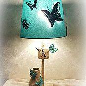 """Для дома и интерьера ручной работы. Ярмарка Мастеров - ручная работа Светильник """"Butterflies 2"""". Handmade."""