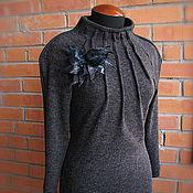"""Одежда ручной работы. Ярмарка Мастеров - ручная работа Платье """"Кокон"""". Handmade."""