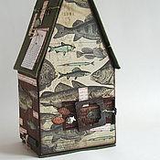 Канцелярские товары ручной работы. Ярмарка Мастеров - ручная работа Домик рыбака. Handmade.
