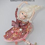 """Куклы и игрушки ручной работы. Ярмарка Мастеров - ручная работа """"Алиса падает в нору"""". Handmade."""