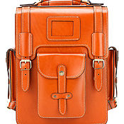 Сумки и аксессуары handmade. Livemaster - original item Leather satchel-briefcase