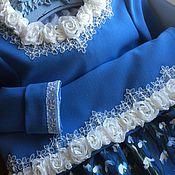 Работы для детей, ручной работы. Ярмарка Мастеров - ручная работа Платье Двенадцать месяцев. Handmade.