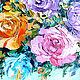 """Картины цветов ручной работы. Заказать """"Кремовые"""" цветы""""букет цветов,холст,масло,живопись мастихином. СветКартины Svetlana Samsonova. Ярмарка Мастеров."""