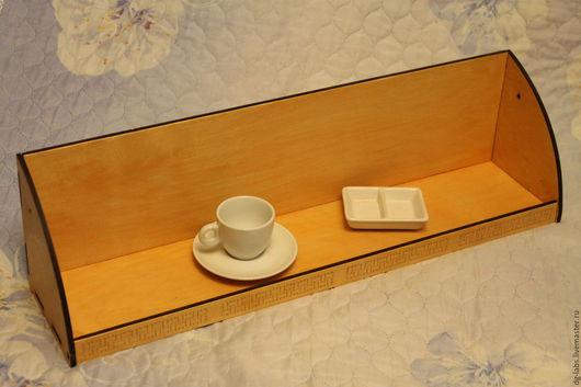 Мебель ручной работы. Ярмарка Мастеров - ручная работа. Купить Полка на кухню под кухонную мебель. Handmade. Бежевый