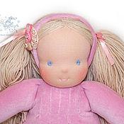 Куклы и игрушки ручной работы. Ярмарка Мастеров - ручная работа вальдорфская кукла Заинька, 38 см.. Handmade.