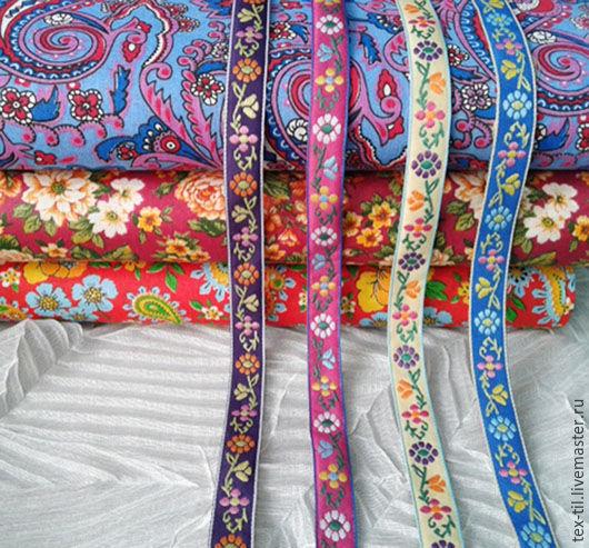 Тесьма шитье