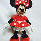Мягкие игрушки ручной работы. Ярмарка Мастеров - ручная работа Микки и Минни Маус. Handmade.