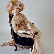 Куклы и игрушки ручной работы. Ярмарка Мастеров - ручная работа Charlotte. подвижная кукла из фарфора с мягким телом. Handmade.