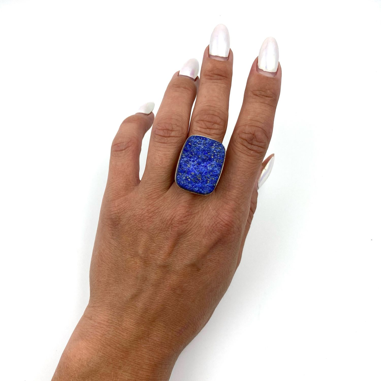 Кольцо с лазуритом, Кольца, Феодосия,  Фото №1