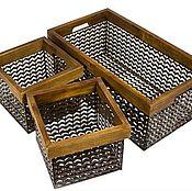 Для дома и интерьера ручной работы. Ярмарка Мастеров - ручная работа Ящики из сетки в стиле Loft. Handmade.