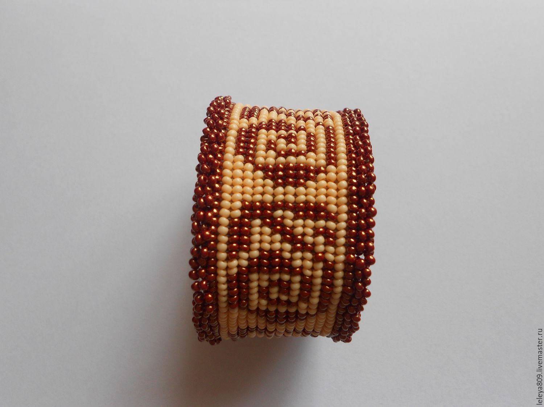 Этнический браслет бисер
