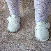 Одежда для кукол ручной работы. Ярмарка Мастеров - ручная работа Ботиночки,туфли для кукол Готц.. Handmade.