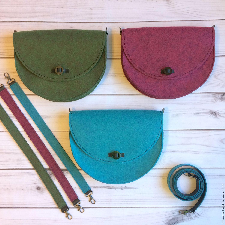 сумки из фетра фото