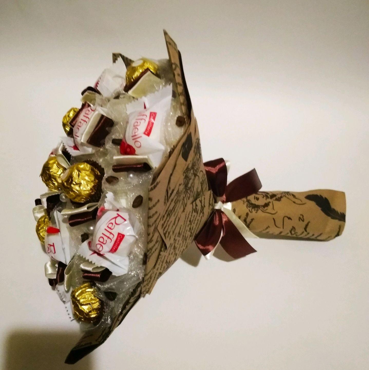 "Букет из конфет ""Вечер"", Букеты, Москва,  Фото №1"
