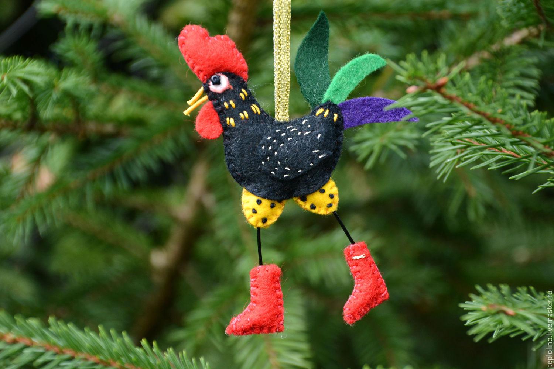 Как сделать новогоднюю игрушку петуха фото 118