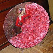 """Подвески ручной работы. Ярмарка Мастеров - ручная работа Панно тарелка""""Страстный танец"""". Handmade."""