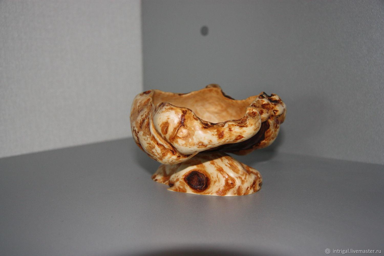 ваза из капа березы, Вазы, Москва,  Фото №1