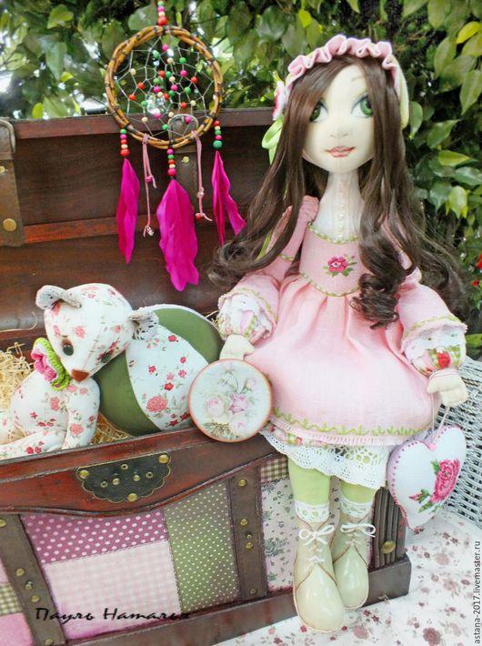 """Детская ручной работы. Ярмарка Мастеров - ручная работа. Купить """" Бабушкин сундук"""". Handmade. Комбинированный, кукла ручной работы"""