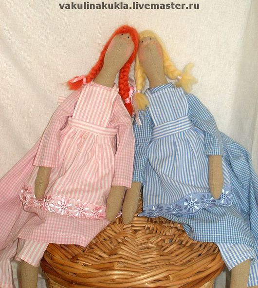 Куклы Тильды ручной работы. Ярмарка Мастеров - ручная работа. Купить Куклы интерьерные Софи и Мари. Handmade. Авторская игрушка