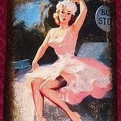 """Сувениры и подарки ручной работы. Ярмарка Мастеров - ручная работа Фляжка """"Автостоп"""". Handmade."""