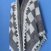 Аксессуары handmade. Livemaster - original item 235 scarf, Orenburg down knitted shawls accessories wraps. Handmade.