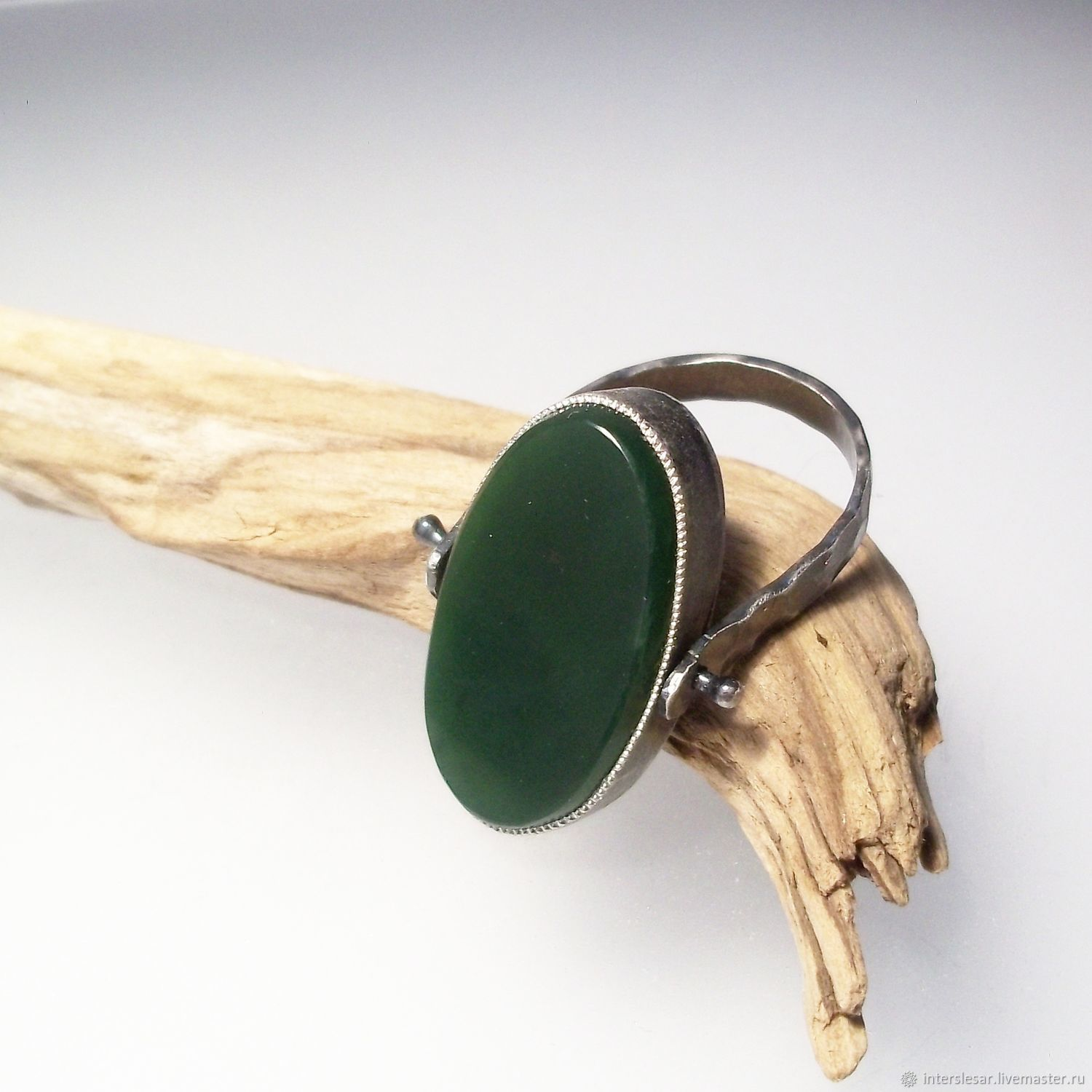 Jade ring ' Familiaris', Rings, Moscow,  Фото №1