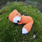Куклы и игрушки ручной работы. Ярмарка Мастеров - ручная работа Спящий лисёнок. Handmade.