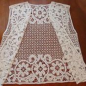 Одежда ручной работы. Ярмарка Мастеров - ручная работа жилет. Handmade.