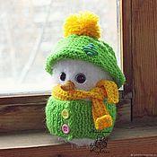 Куклы и игрушки handmade. Livemaster - original item Snowman