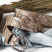 Аксессуары handmade. Livemaster - original item The strap of leather