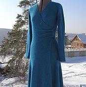 """Одежда ручной работы. Ярмарка Мастеров - ручная работа """"Анжелина"""" платье из ангоры. Handmade."""