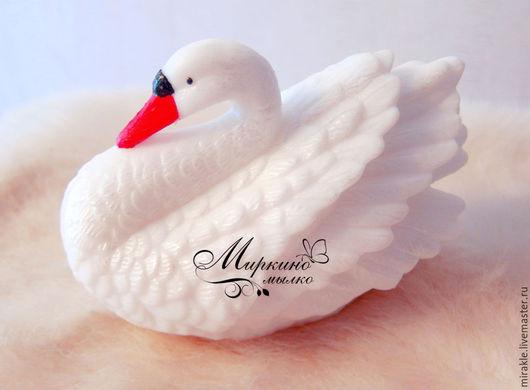 Мыло ручной работы. Ярмарка Мастеров - ручная работа. Купить Мыло Лебедь. Большой. Handmade. Лебеди, свадьба, подарок на свадьбу