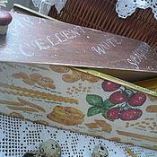 Для дома и интерьера ручной работы. Ярмарка Мастеров - ручная работа Короб для спагетти. Handmade.