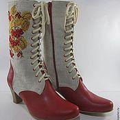 Обувь ручной работы. Ярмарка Мастеров - ручная работа Вышивка на обуви. Handmade.