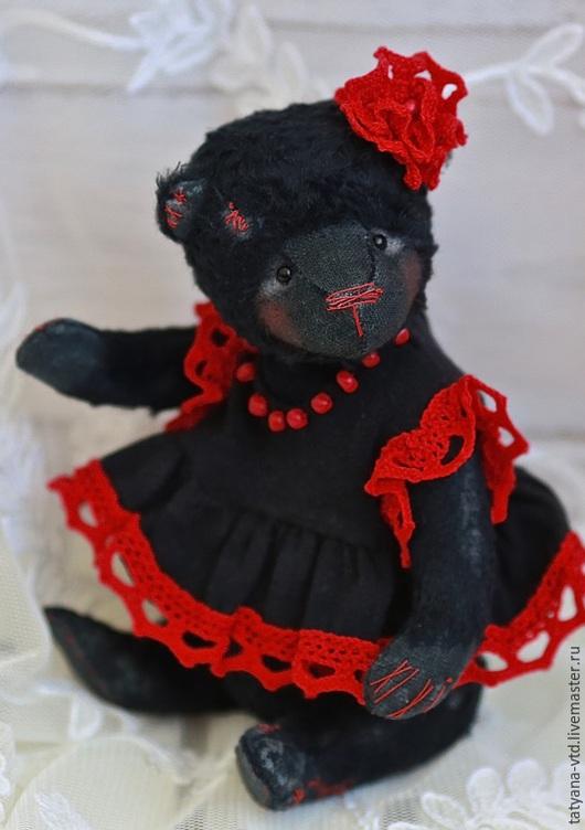 Мишки Тедди ручной работы. Ярмарка Мастеров - ручная работа. Купить Кармелита. Handmade. Черный, мишки тедди, авторская игрушка