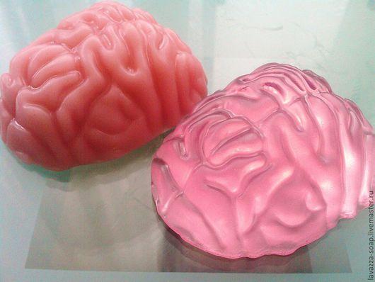 """Мыло ручной работы. Ярмарка Мастеров - ручная работа. Купить Мыло-прикол """"Мозг"""". Handmade. Розовый, мыло-сувенир, смех"""