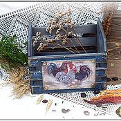 Для дома и интерьера ручной работы. Ярмарка Мастеров - ручная работа Ящик для хранения трав, овощей. Handmade.