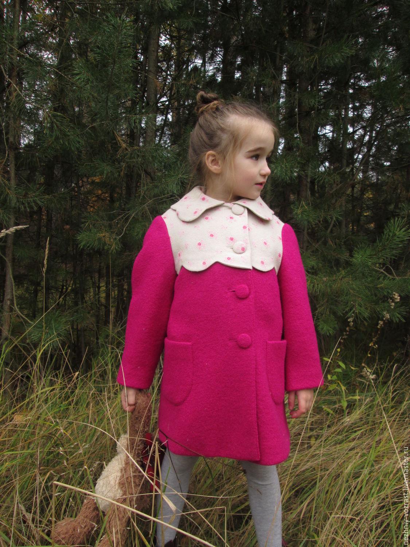 Coat 'Raspberry jam', Childrens outerwears, Voskresensk,  Фото №1