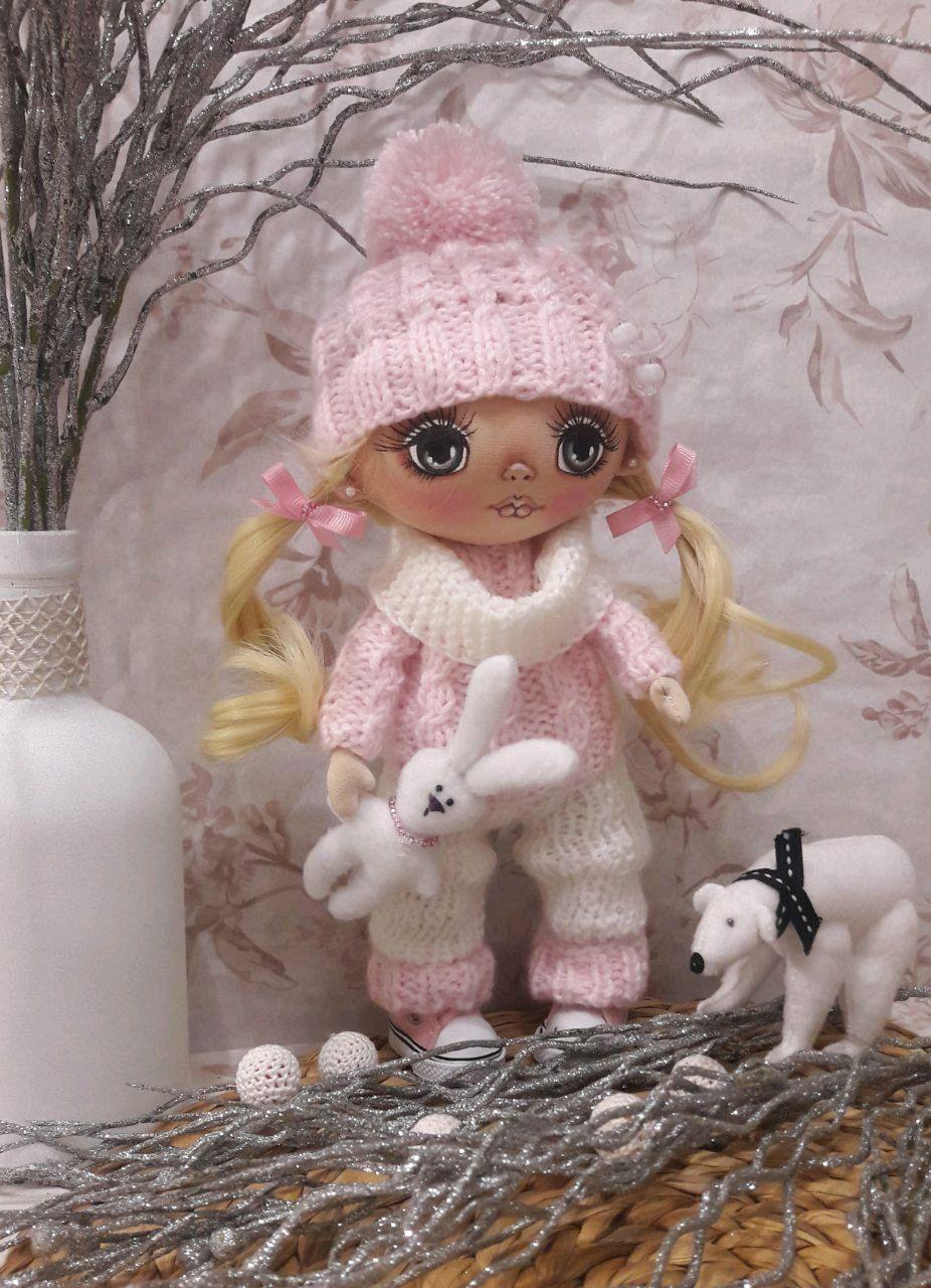 Кукла текстильная коллекционная, Куклы, Гомель, Фото №1