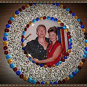 Подарки к праздникам ручной работы. Ярмарка Мастеров - ручная работа тарелочка с фотографией (стекло, мозаика). Handmade.