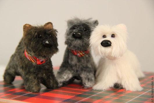 Куклы и игрушки ручной работы. Ярмарка Мастеров - ручная работа. Купить собака. Handmade. Собака, Вест Хайленд Уайт терьер
