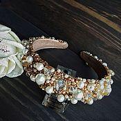Украшения handmade. Livemaster - original item A wide rim in the style of Dolce Gabbana,Dolce&Gabbana hair. Handmade.